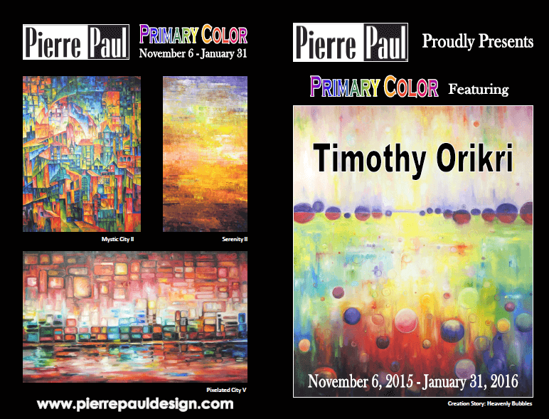 Primary Color Art Exhibition by Timothy Orikri