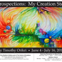 Art Exhibition – Introspections: My Creation Story
