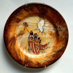 Nativity XIII - Hand-painted Ceramic Plate